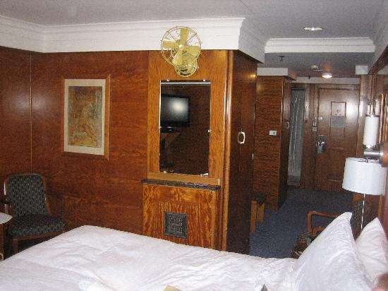 The Queen Mary: Our Cabin