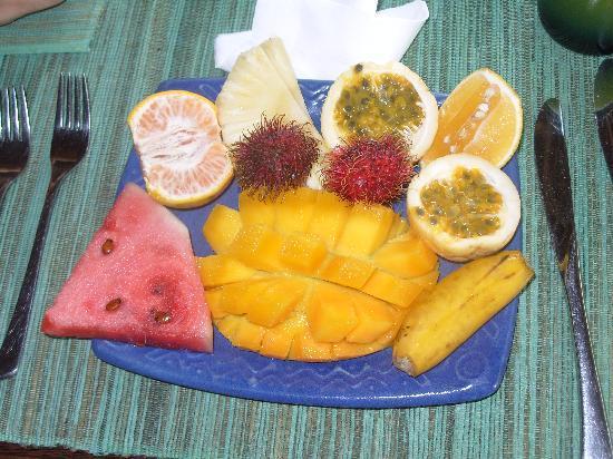 Matemwe Beach Village: what an amazing breakfast