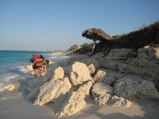 Melia Cayo Santa Maria: Beach Damage in front of the SOL
