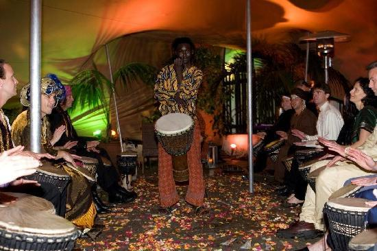 Gold Restaurant: We offer African Drumming Lessons