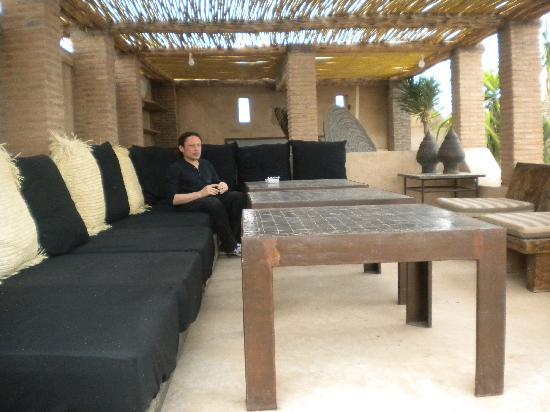 Ryad Dyor: autre partie de la terrasse