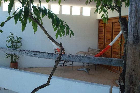 Mi Casa en Cozumel: naranja deck