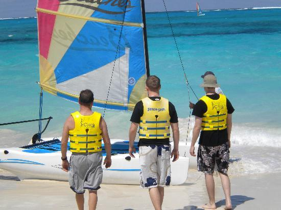 Beaches Turks & Caicos Resort Villages & Spa: One of the many sailboat trips