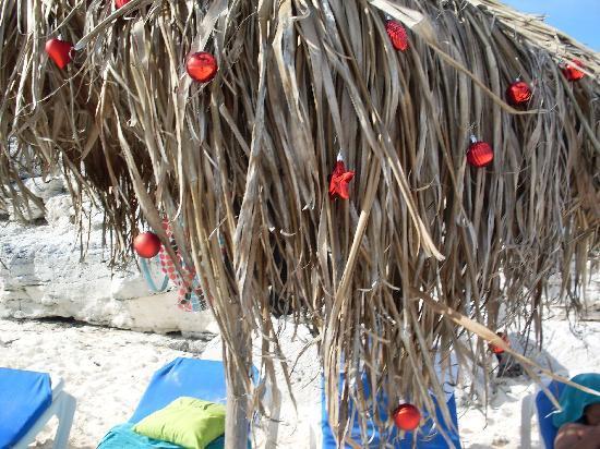 Iberostar Playa Blanca: Notre palapa pour le jour de Noel