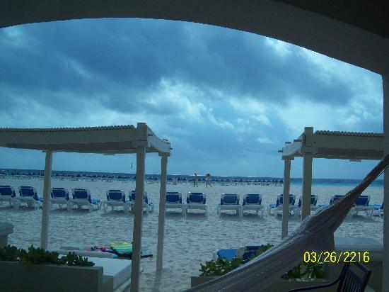 Panama Jack Resorts - Gran Caribe Cancun: view from our patio, GCR suite 2729