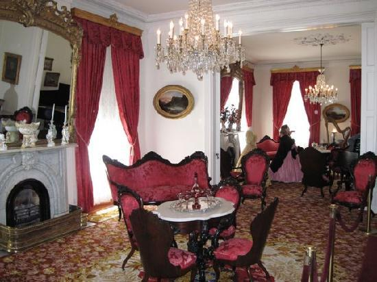 Rosalie Mansion: Double Parlor with Original Furniture