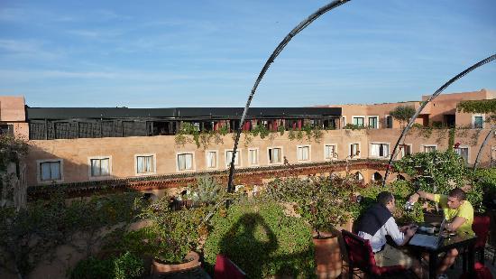 Les Jardins de La Koutoubia: view from room terrace