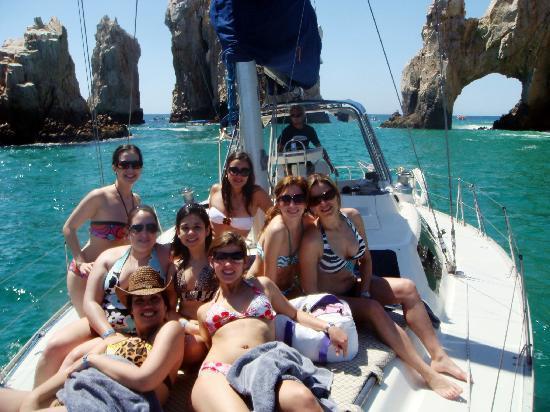 Cabo Sailing Ocean Adventures: having fun
