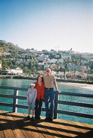Avalon, CA: Grandpa,Grandma & Sabrina
