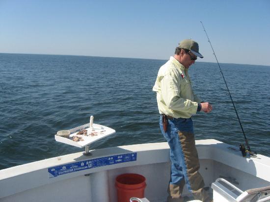 Sport Fishing Gullah Gal: Cap.Jeff hookin us up