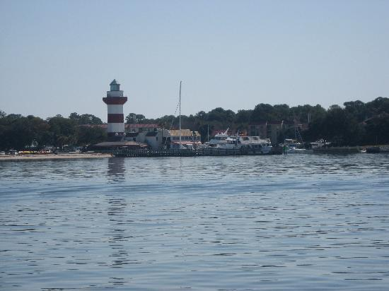 Sport Fishing Gullah Gal: Passed Harbour Town on our way