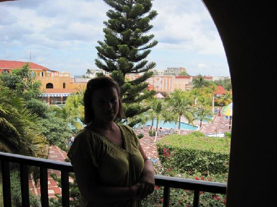 Hotel Cozumel and Resort: View from our room