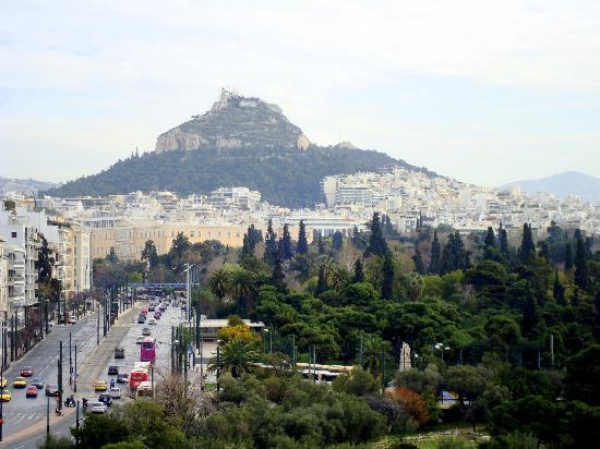 The Athens Gate Hotel: From the roof bar