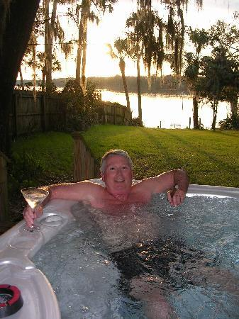 Welaka, FL: View from the hot tub