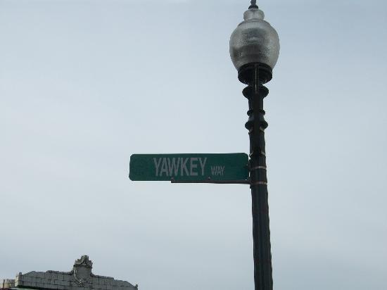 Fenway Park: Yawkey Way!