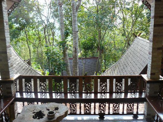 Khao Sok Las Orquideas Resort: Vista del chale