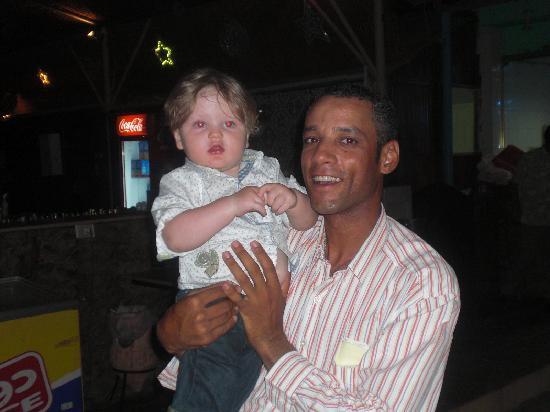 Royal Albatros Moderna: our son and beach bar manager