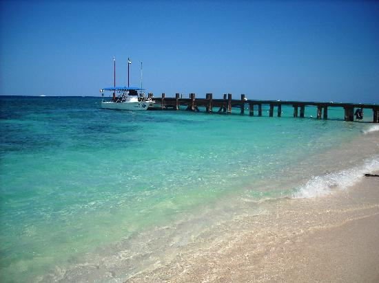 Occidental Cozumel: view from the pier