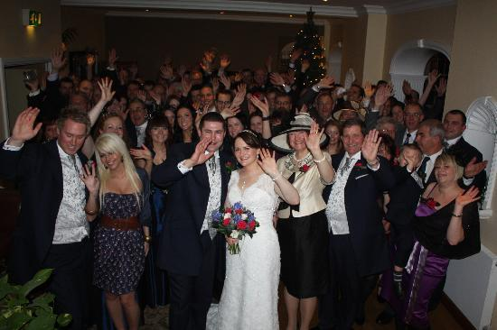 Losehill House Hotel & Spa: Our wedding and the guests