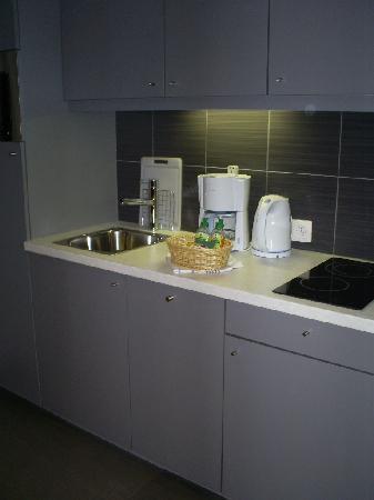 Aparthotel Adagio Basel City: Kitchen