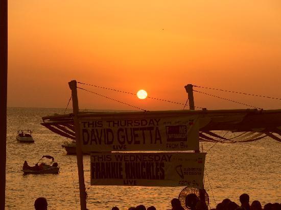 Alua Hawaii Ibiza: couché de soleil 1