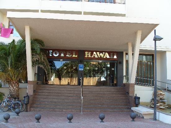 Alua Hawaii Ibiza: entree hotel