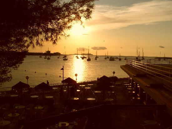 Alua Hawaii Ibiza: couche de soleil de l'hotel