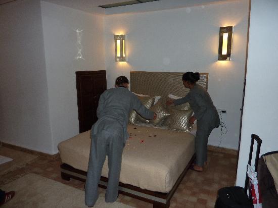 Riad Charlott': Salle de massage