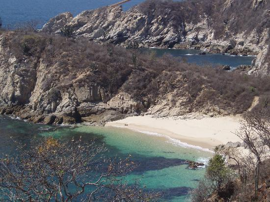 Huatulco, Mexico: Hidden Beach
