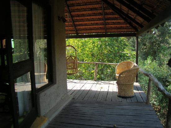 Mahua Vann Resort: another verandah