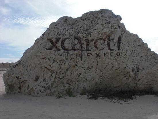 Xcaret Eco Theme Park: piedra
