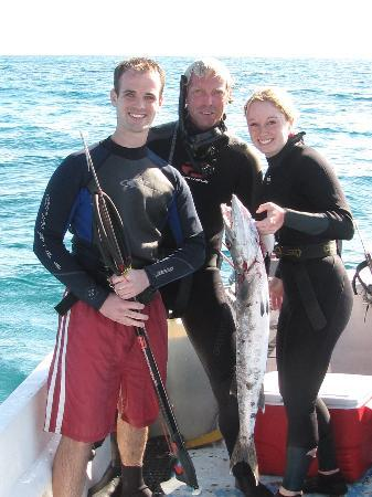 Spearfishing Today Cozumel: The catch
