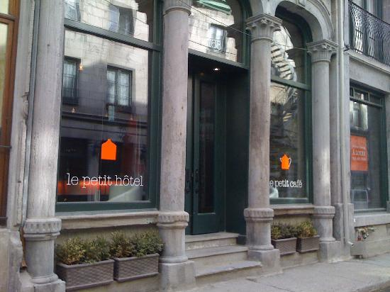 Le Petit Hotel: The Hotel itself...