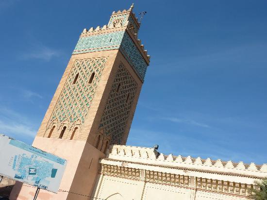 Riad Assakina: minaret
