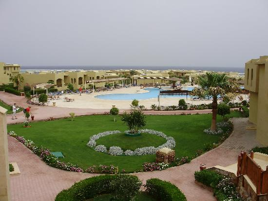 Three Corners Fayrouz Plaza Beach Resort: mooi uitzicht
