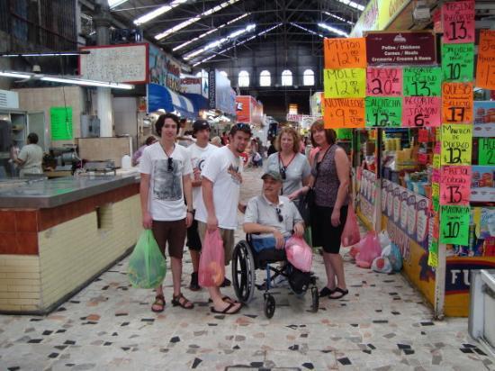 Mazatlan, Mexico: at the supermarket
