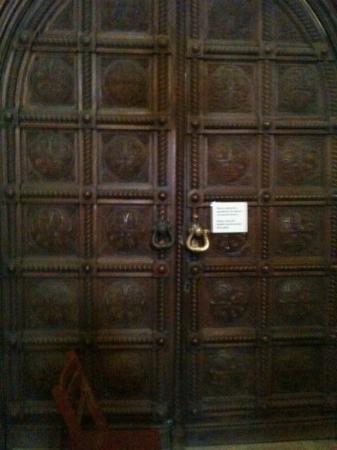 Sofia, Bulgaria: Doors of St. Alexander Nevski crypt