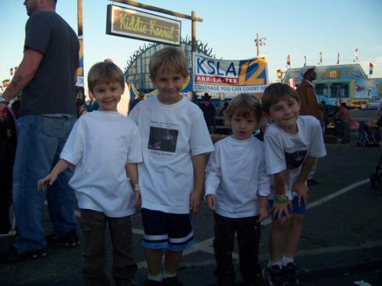 Shreveport, LA: Ayden, Myles, Ryder and Reece in their Brande