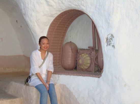Matmata, Tunisia: Outside Luke's home