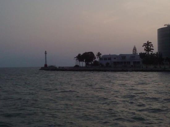 Belize by, Belize: Light house on the point