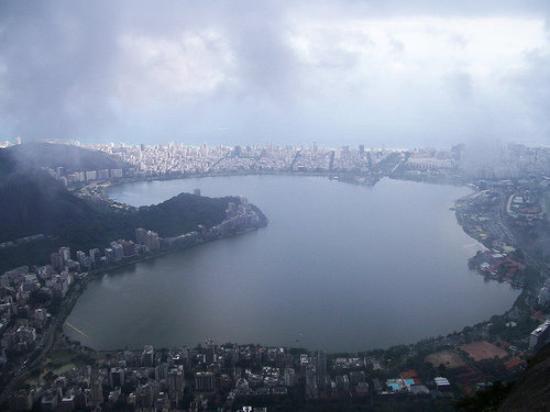 Kristusstatuen i Rio de Janeiro: Rio de Janeiro - Vista desde el Corcovado (Cristo)