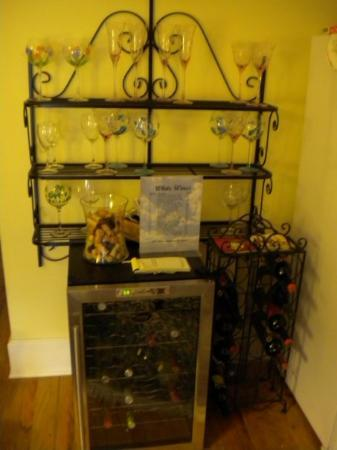 Centennial House Bed and Breakfast: Plenty of wine - you purchase on a honor system
