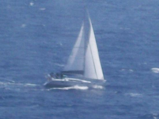 Charlotte Amalie, St. Thomas: ANDY DAVE AND BRIAN RACING IN THE REGATTA ON A FARR 65 IN ST.THOMAS