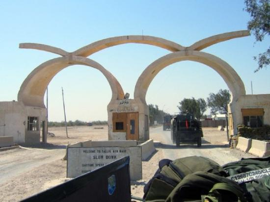Nasiriyah, Irak: Ah the gates of Tallil!