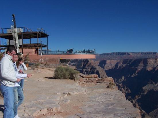 Meadview, AZ: Grand Canyon West. AZ - Glass bottom overlook