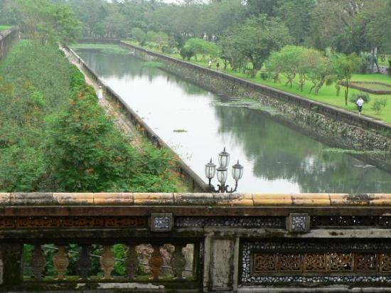Det keiserlige citadell: Imperial Enclosure - Hue