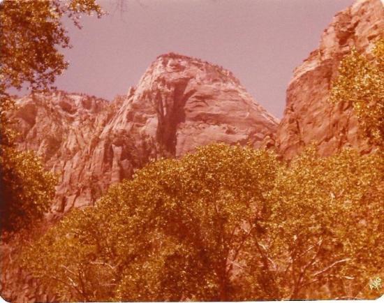 Zion National Park, Utah 1977