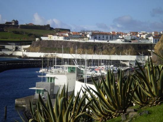 Angra do Heroísmo, Portugal: Main Port in Angra do Hermosio
