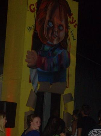 Universal's Islands of Adventure: The Entrance to Childs Play Haunted House