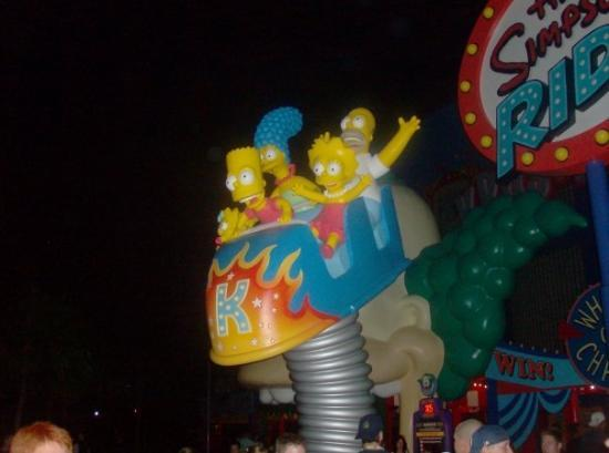 Universal's Islands of Adventure: The Simpsons Ride